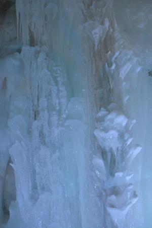 雪の美術館の氷の回廊2
