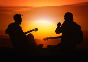 sunset-guitar