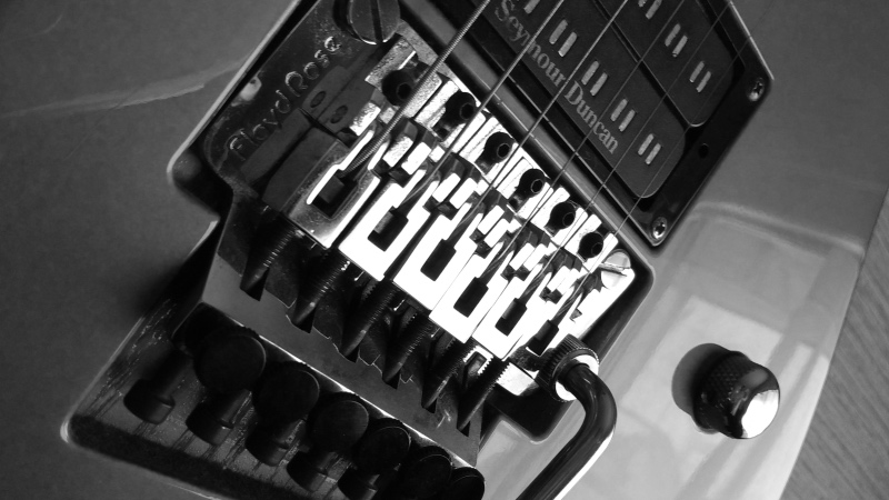 フロイドローズの弦交換・チューニング・弦高調整