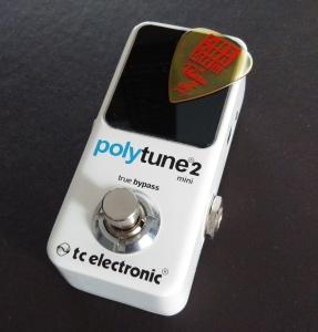 tc electronic ポリフォニックチューナー POLYTUNE 2